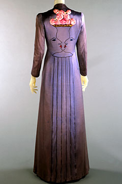 Evening coat by Elsa Schiaparelli